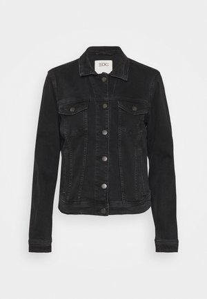 Denim jacket - black dark
