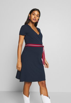 DRESS NURSING - Jersey dress - night blue