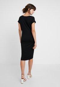 AMOV - ANE DRESS - Sukienka z dżerseju - black - 3