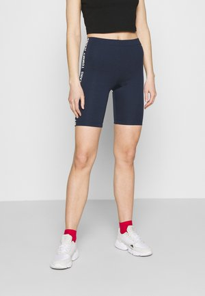 FITTED BRANDED BIKE - Shorts - twilight navy