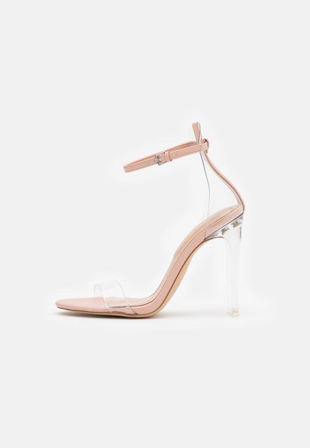 ASERANIA - High heeled sandals - bone