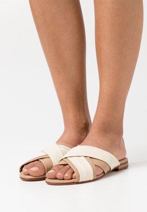 HANNA 60 - Slip-ins - beige/offwhite/natural