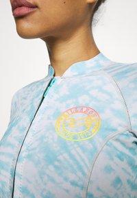 Billabong - PEEKY JACKET - Bikini top - island blue neo - 6
