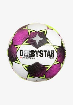 Football - weiss / pink / gelb