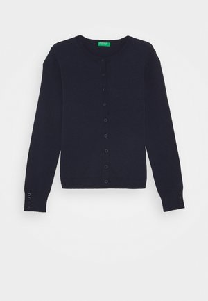 BASIC GIRL  - Strikjakke /Cardigans - dark blue