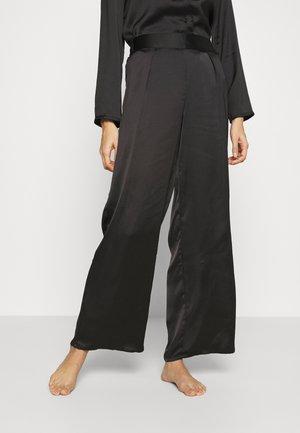 ERINA PANTALON - Pyjamabroek - noir