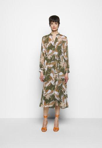 ELEKTRA - Košilové šaty - olive