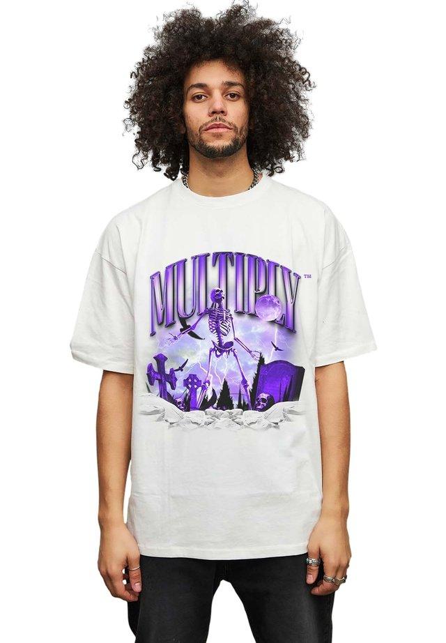 SKELETON - T-shirt print - off white