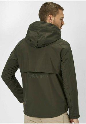 Summer jacket - dk. olive