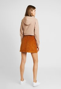 ONLY - ONLAMAZING SKIRT - Jupe trapèze - rustic brown - 2