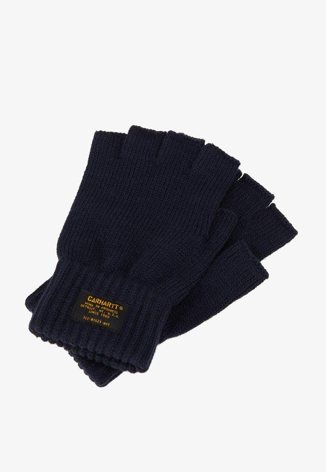 MILITARY MITTEN UNISEX - Fingerless gloves - dark navy