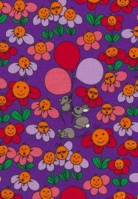 Småfolk - NATTØJ MED BLOMSTER - Pyjama - purple heart - 3