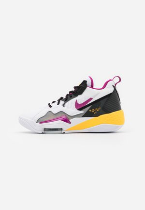 ZOOM '92 - Sneakers high - white/cactus flower/black/smoke grey/laser orange