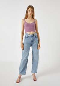 PULL&BEAR - Top - mottled pink - 1
