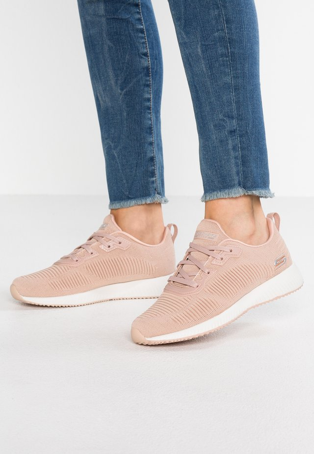 BOBS SQUAD - Sneakersy niskie - light pink sparkle