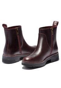Timberland - NOLITA SKY ANKLE BOOT - Boots - burgundy full grain - 2