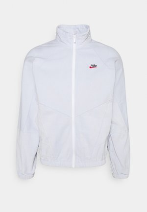 Summer jacket - pure platinum/white