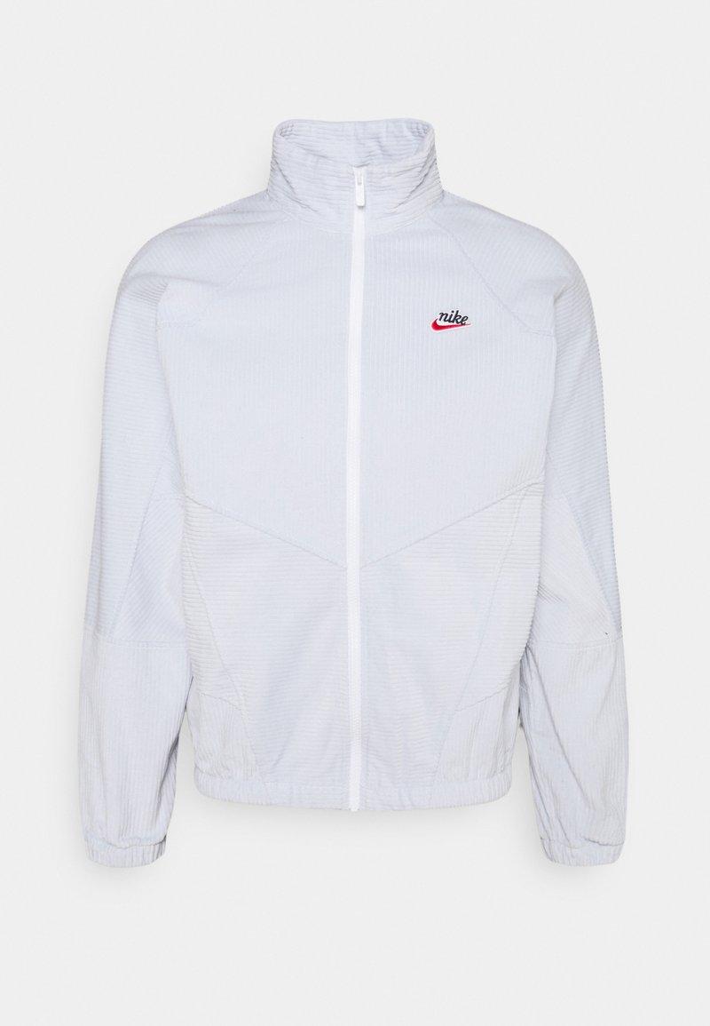 Nike Sportswear - Summer jacket - pure platinum/white
