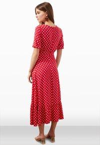 Trendyol - Day dress - red - 2