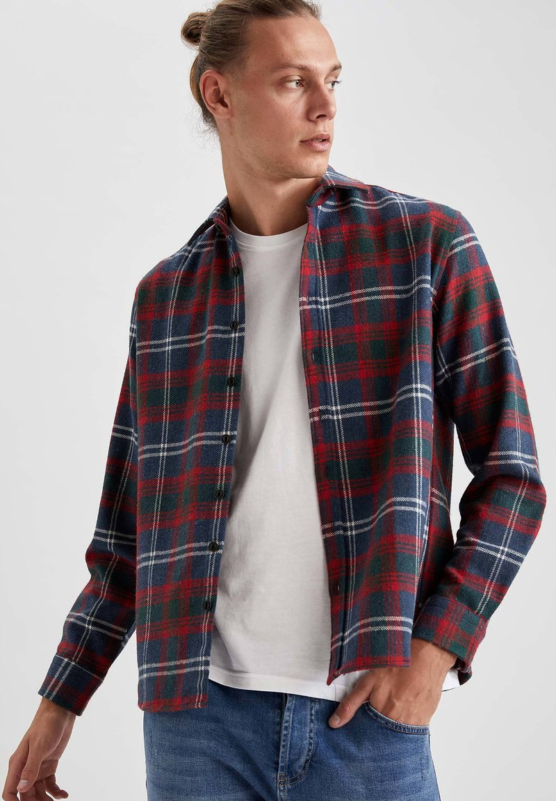 DeFacto - OVERSHIRT - Camicia - red