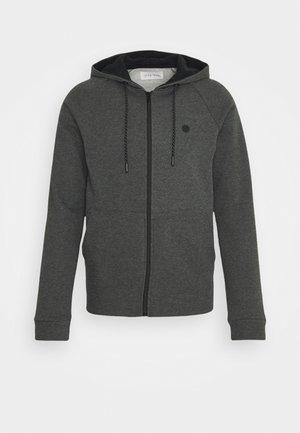 Mikina na zip - grey