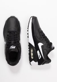 Nike Sportswear - AIR MAX 90 UNISEX - Trainers - black/white - 0