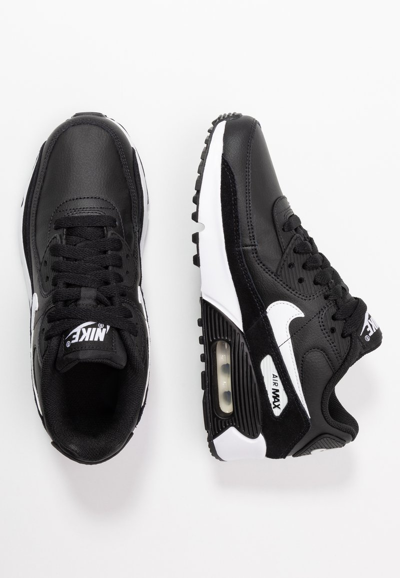 Nike Sportswear - AIR MAX 90 UNISEX - Trainers - black/white