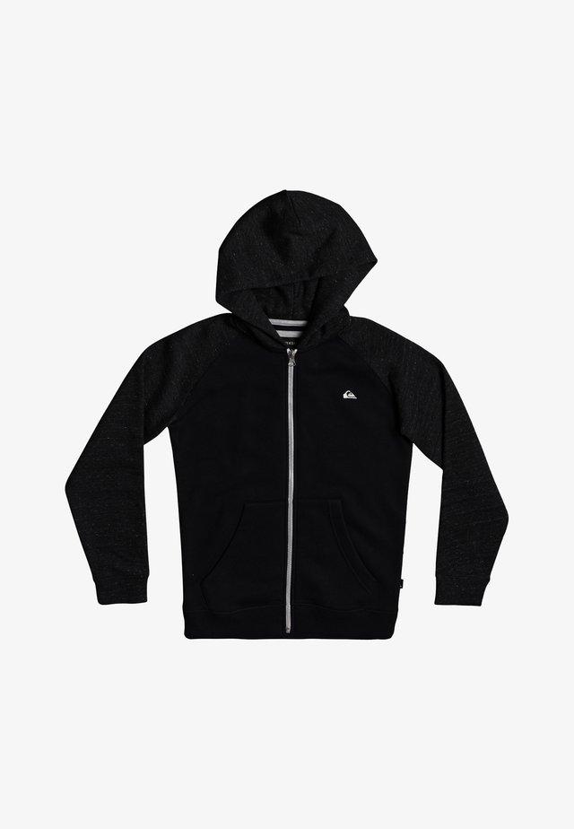 EASY DAY  - veste en sweat zippée - black