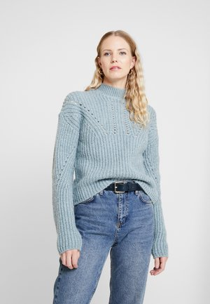Sweter - grey/blue
