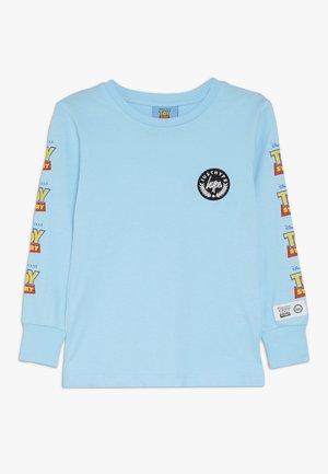 KIDS LOGO SLEEVE - Long sleeved top - blue