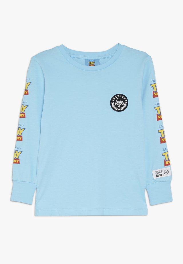 KIDS LOGO SLEEVE - Langærmede T-shirts - blue