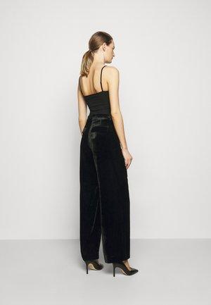 SILENE - Pantaloni - black