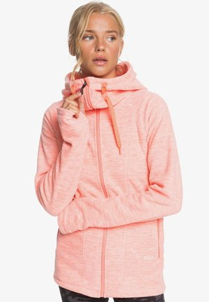 ELECT FEELIN - Fleece jacket - fusion coral