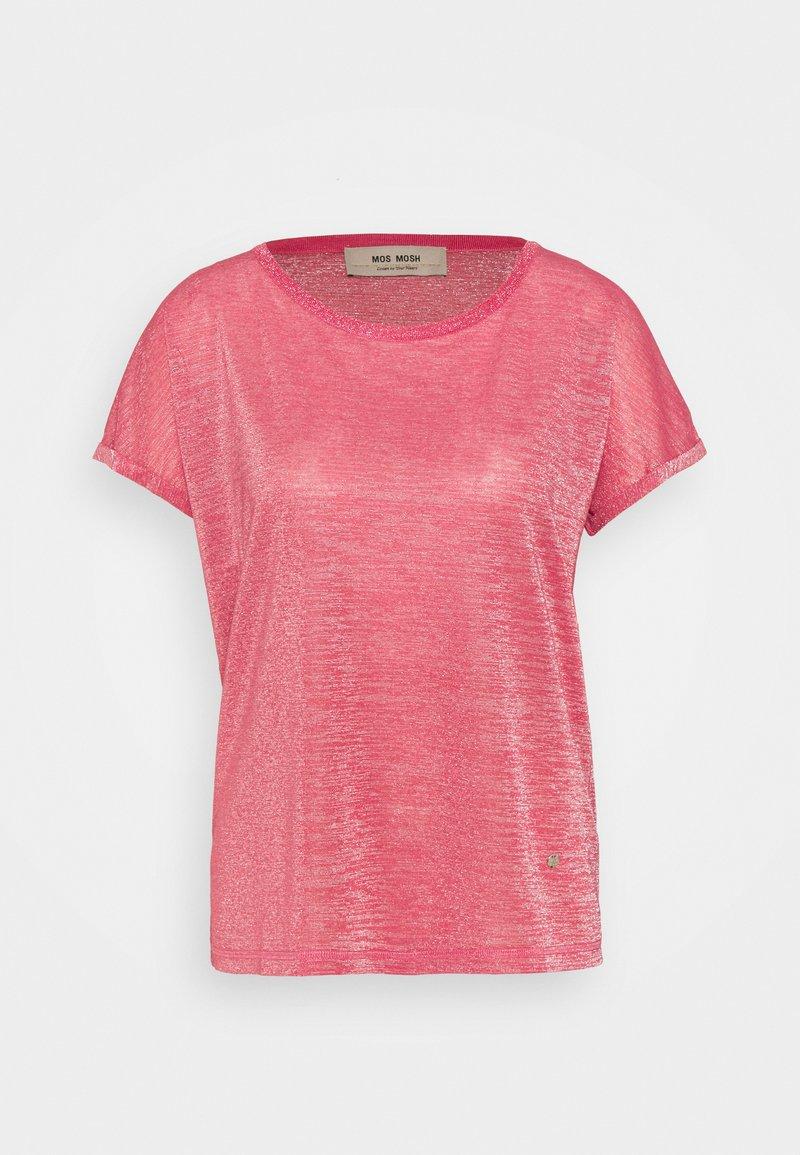 Mos Mosh - KAY TEE - Print T-shirt - fandango pink