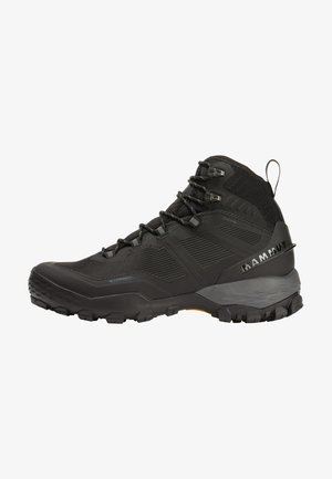 Hiking shoes - black-titanium