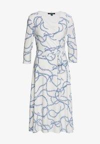 Lauren Ralph Lauren - PRINTED MATTE DRESS - Jerseyklänning - colonial cream - 5