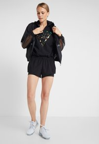 Guess - HOODED ONE PIECE - Gym suit - jet black/frost - 1