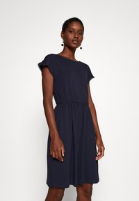 Anna Field - BASIC JERSEYKLEID - Jersey dress - maritime blue - 0