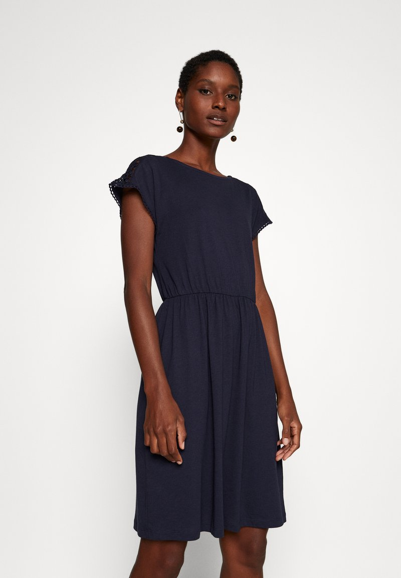 Anna Field - BASIC JERSEYKLEID - Jersey dress - maritime blue