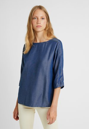 Bluser - blue dark wash