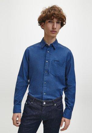 Shirt - dress blues heather