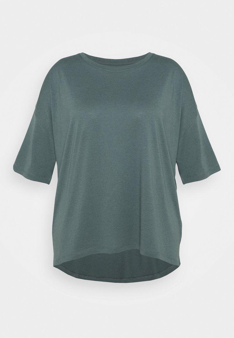 Even&Odd Curvy - Basic T-shirt - green