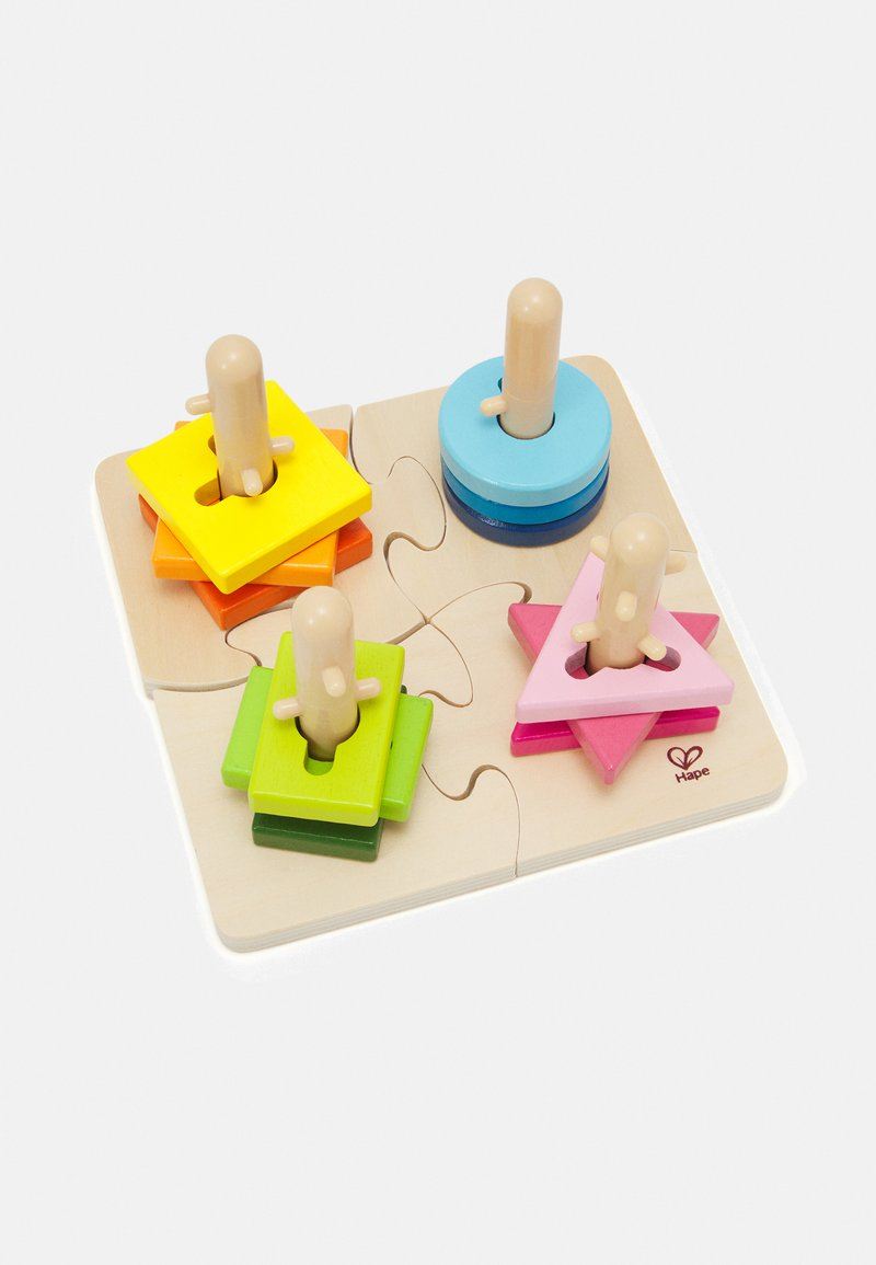 Hape - KREATIVES STECKPUZZLE - Lelu - multicoloured