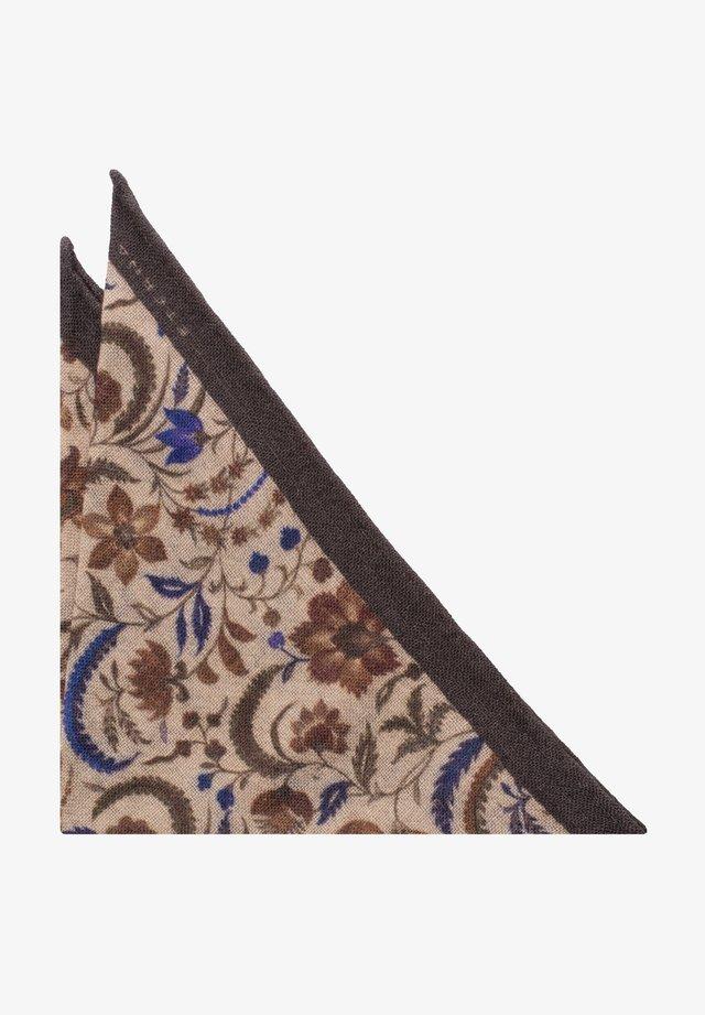Pocket square - erdbraun