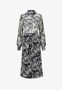 DESOTO - Shirt dress - white/dark blue - 4