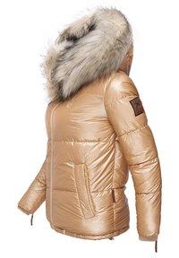 Navahoo - TIKUNAA - Winter jacket - gold - 3