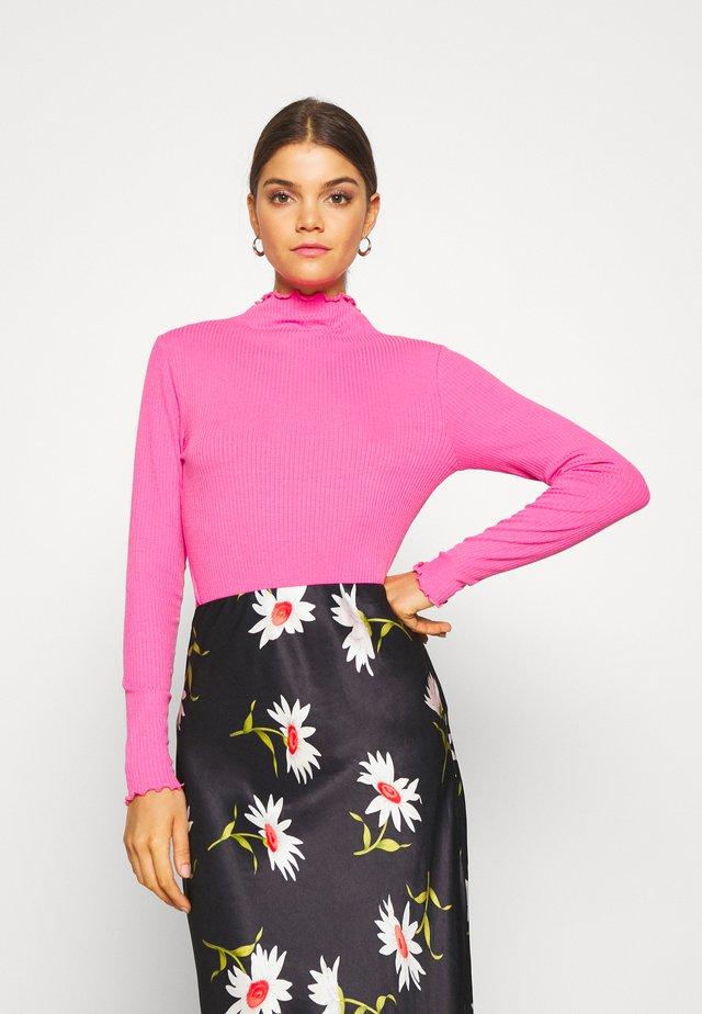 BYTOELLA - Long sleeved top - shocking pink
