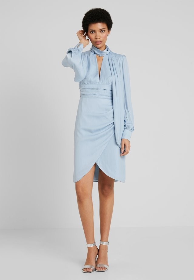 GRACIOUS DRESS - Cocktailklänning - powder blue