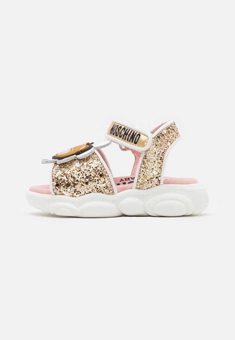 MOSCHINO - Sandals - gold