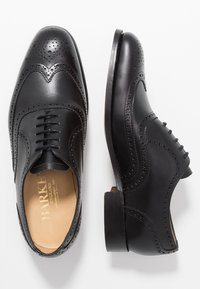 Barker - MALTON - Smart lace-ups - black - 1